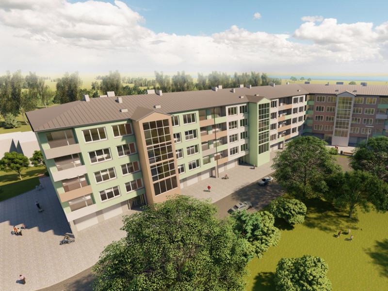 Apartment reservation started in the new housing project